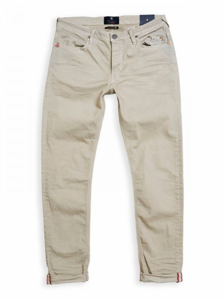 Blue de Gênes Repi Super Oil Trousers Light Grey