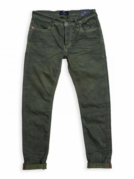 Blue de Gênes Repi Super Oil Trousers Green