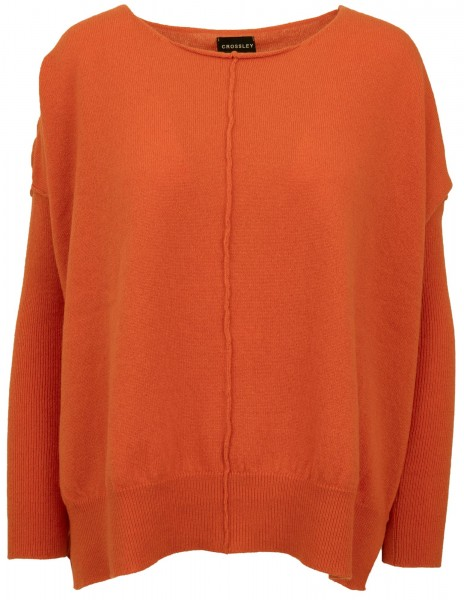 Crossley Kaschmirpullover Altar Orange