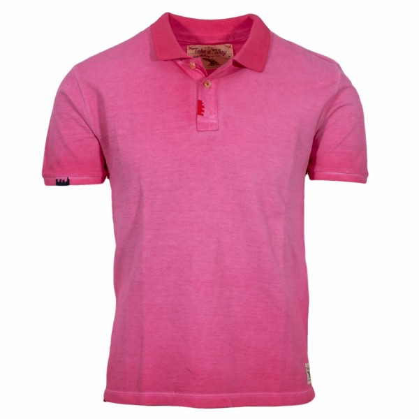 Take a Way Polo Shirt Fuchsia