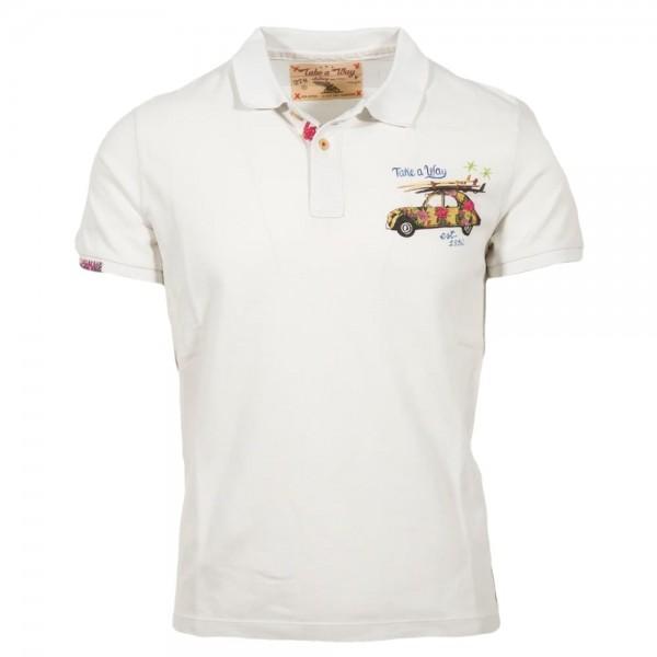 Take a Way Polo Shirt Weiß