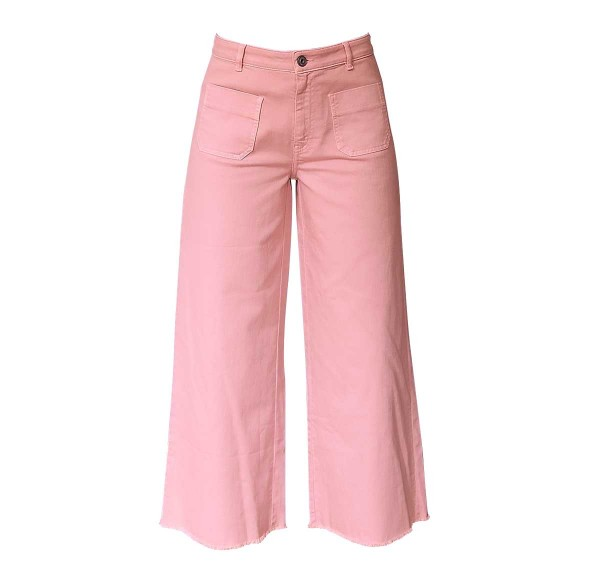 Ottod'Ame Wide-High Jeans Rose