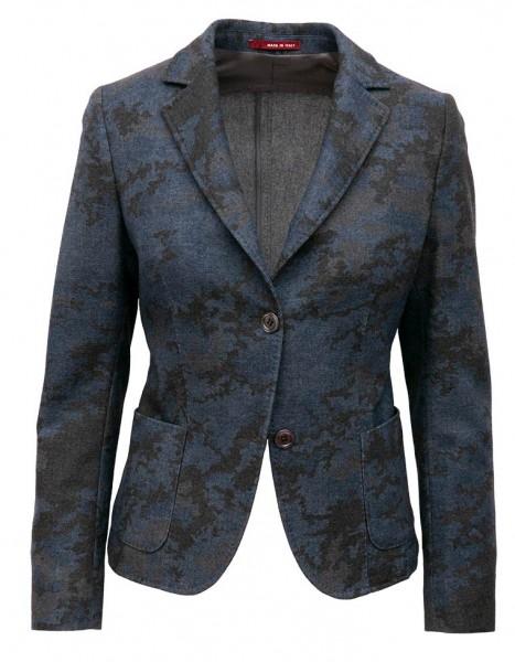 die form Blazer Blau-Grau Camouflage