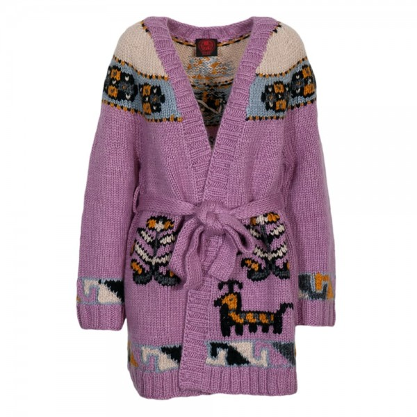 Happy Sheep Strickcardigan