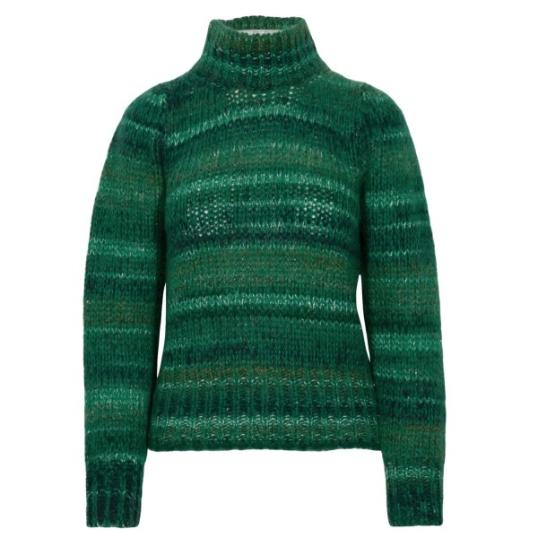 Maliparmi Strickpullover mit Metallic-Optik