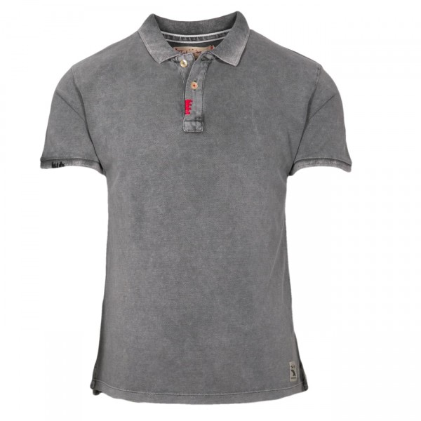 Take a Way Polo Shirt Charcoal