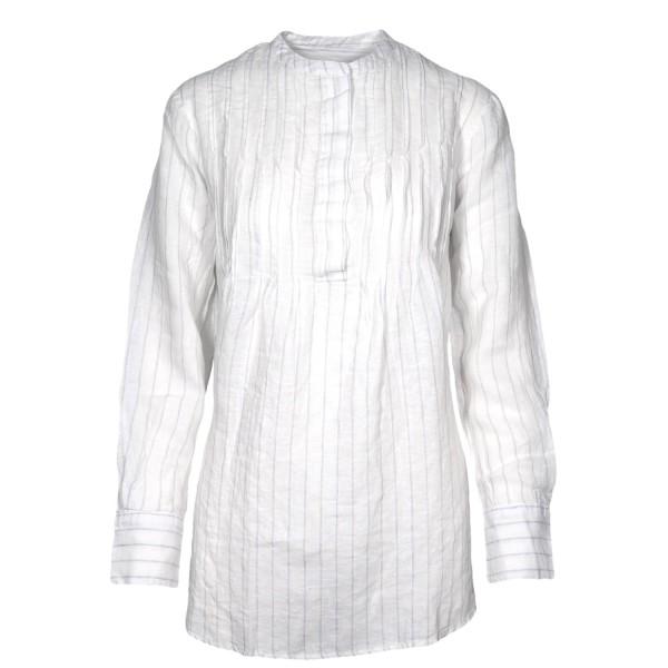 Shirt No.2 Leinenbluse Gestreift