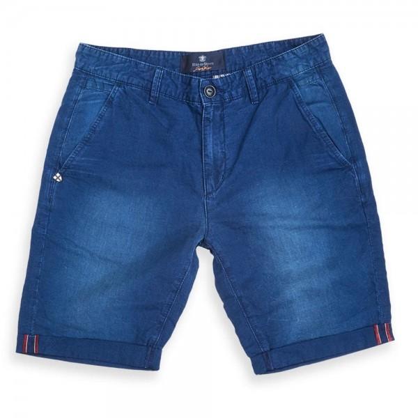 Blue de Gênes Teo Fanning Shorts