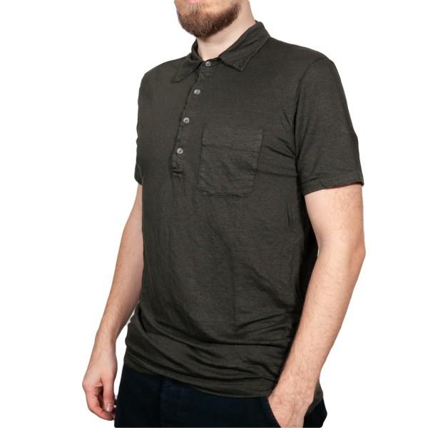 Crossley Polo Shirt Gotha aus Leinen