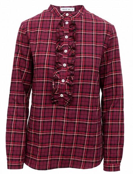 Shirt No.2 Baumwollbluse mit Rüschen